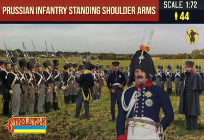 180 - Prussian Infantry Standing Shoulder Arms 1/72