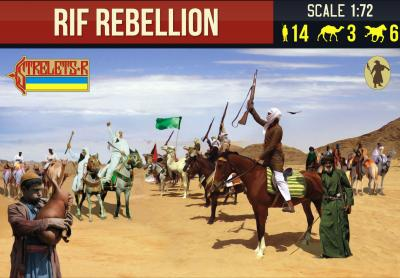 191 - Rif Rebellion Rif War 1/72