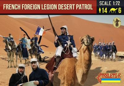192 - French Foreign Legion Desert Patrol 1/72
