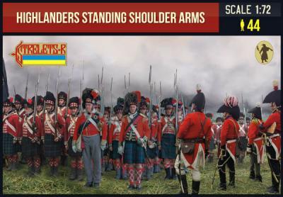 199 - Highlanders Standing Shoulder Arms 1/72