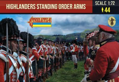 200 - Highlanders Standing Order Arms 1/72