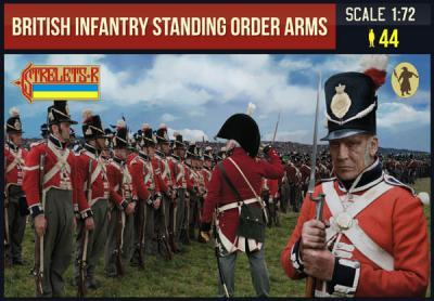 201 - British Infantry Standing Order Arm 1/72