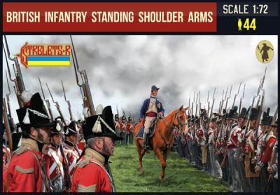 202 - British Infantry Standing Shoulder Arms 1/72