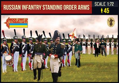 217 - Russian Infantry Standing Order Arms 1/72