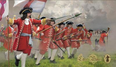 231 - British Infantry in Attack 1701-1714 1/72