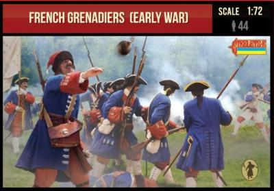 235 - French Grenadiers (early war) 1/72