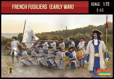 236 - French Fusiliers (Early War) 1/72