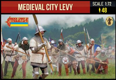 248 - Medieval City Levy 1/72