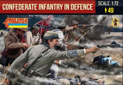 249 - Confederate Infantry in Defence 1/72