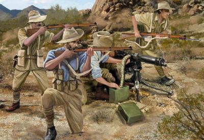 M131 - Australian Dismounted Camel Corps 1/72