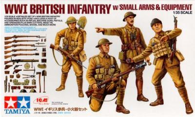 32409 - WWI British Infantry figures