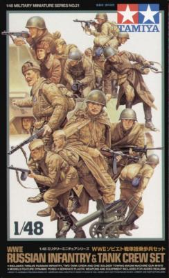 32521 - Soviet (WWII) Tank Crew and Infantry set