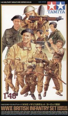32526 - British (WWII) Infantry Europe