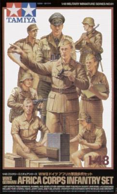 32561 - German (WWII) DAK/Afrika Korps Infantry