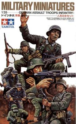 35030 - German Assault Troops WWII
