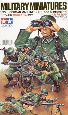 35038 - German Machine Gun Troops WWII