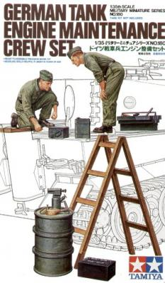 35180 - German WWII Tank Engine Maintenance Crew Set