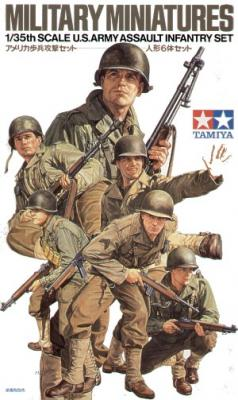 35192 - U.S. Army WWII assault infantry set