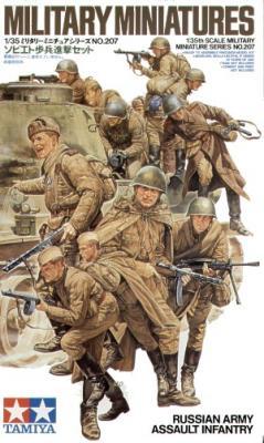 35207 - Soviet WWII Army Assault Infantry