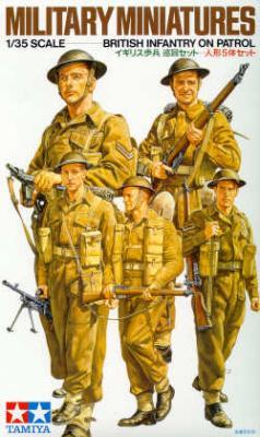 35223 - British Infantry patrol WWII