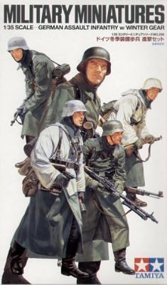 35256 - German WWII Assault Infantry Winter