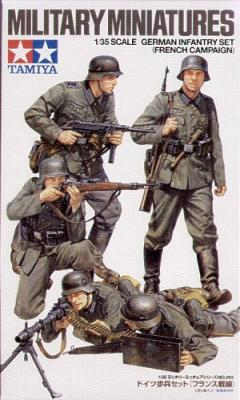 35293 - German WWII Infantry French Campaign