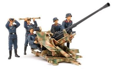 35302 - German WWII 3.7cm AA Gun Type 37 Crew Set