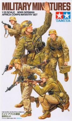 35314 - German WWII Africa Korps Infantry