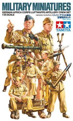 35343 - German DAK/Afrika Korps Luftwaffe Artillery crew set