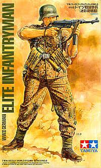 36303 - German (WWII) Elite Infantry 1/16