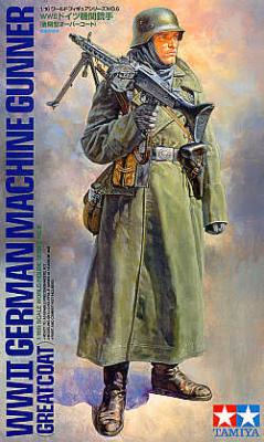 36306 - German (WWII) Machine Gunner 1/16