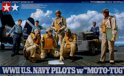 61107 - WWII U.S. Navy Pilots