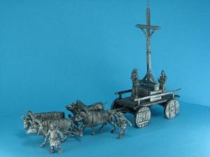 TM0019 - Sign of the Cross - complete set incl. set TM0017 (Ox Waggon) and TM0018 (Knights) 1/72