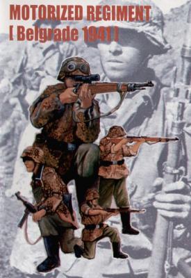 00403 - German Motorized Regiment Belgrade 1944