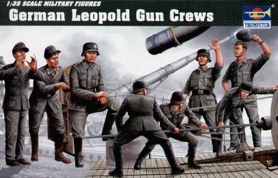 00406 - 28cm K5(E) 'Leopold' railway gun crew