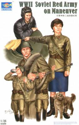 00412 - WWII Soviet Red Army Tank Soldiers