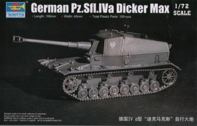 07108 - 10.5cm K.Pz.Sfl.IVa 'Dicker Max' 1/72