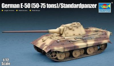 07123 - German E-50 (50-70 tons)/Standardpanzer 1/72