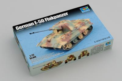 07124 - German E-50 Flakpanzer 1/72