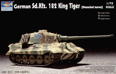 07201 - King Tiger Sd.Kfz.182 1/72
