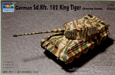 07202 - King Tiger Sd.Kfz.182 with 'Henschel' turret 1/72