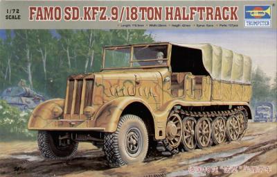 07203 - 18 ton heavy half-track 'Famo' 1/72