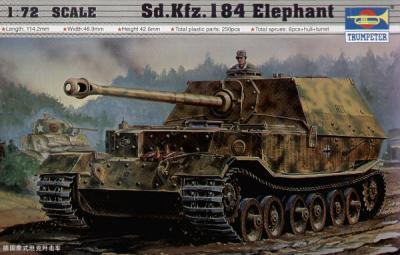 07204 - Sd.Kfz.184 Elefant 1/72