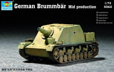 07211 - Brummbar Mid Production 1/72