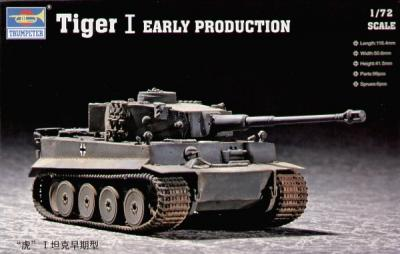 07242 - Pz.Kpfw.VI Tiger I (Early) 1/72
