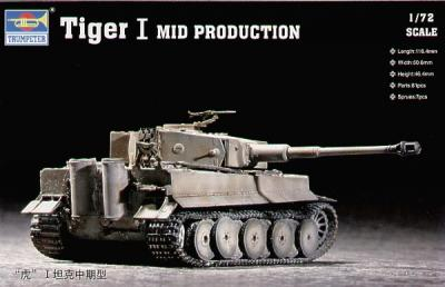 07243 - Pz.Kpfw.VI Tiger I (Mid) 1/72
