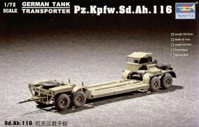 07249 - Sd.Ah.116 Tank Transporter 1/72