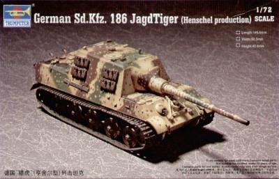 07254 - JagdTiger Sd.Kfz.186 Henschel Production 1/72