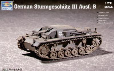 07256 - Sturmgeschutz/StuG.III Ausf.B 1/72