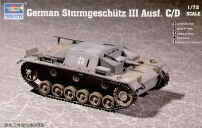 07257 - Sturmgeschutz/StuG.III Ausf.C/D 1/72